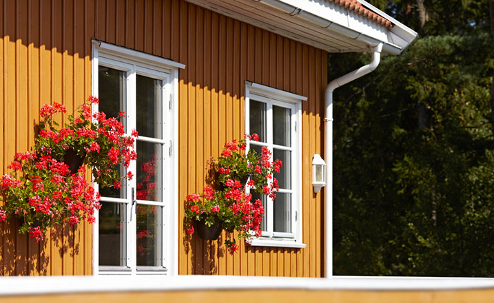 Nymålat hus innan vintern?