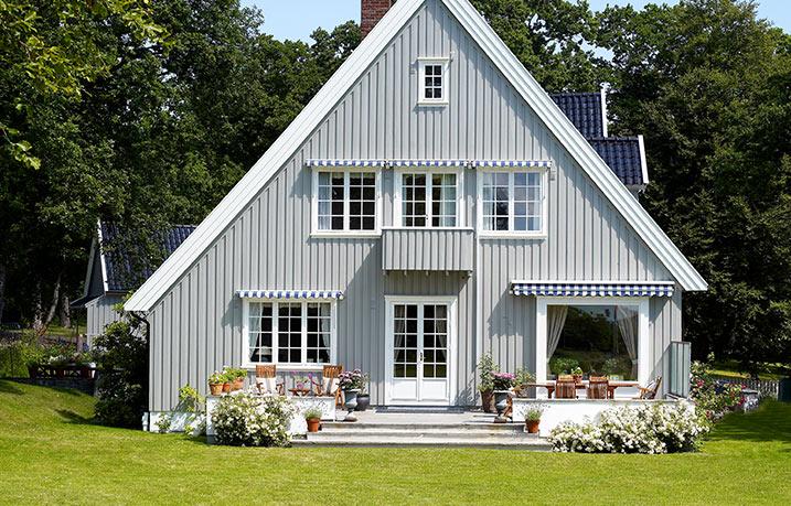 Hitta rätt grå färg till huset