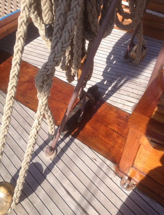 Blank träbåt