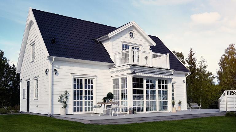 Vackra och hållbara utomhusfärger skyddar ditt hus