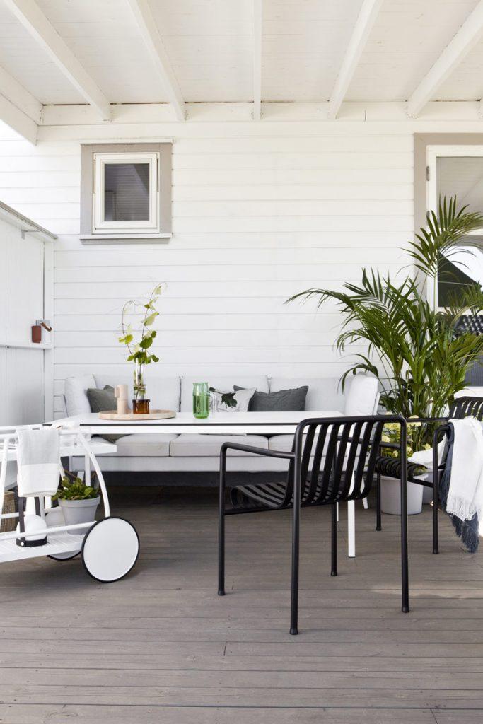 En terrass - två stilar