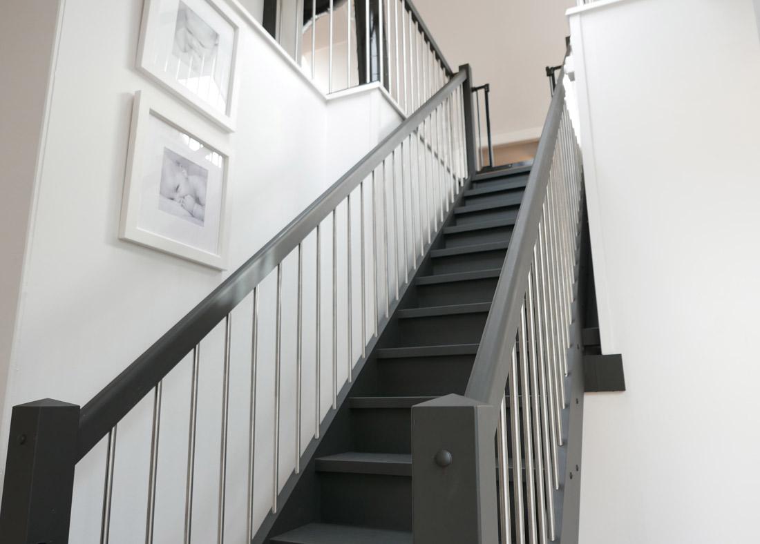 Låt trappan bli en del av inredningen