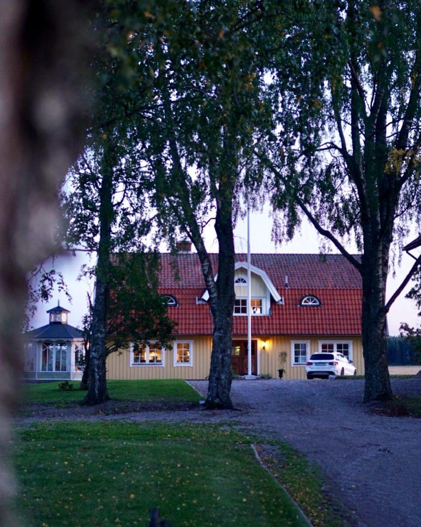 Bondeparets gula hus