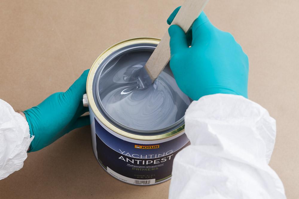 Rör om innan du målar
